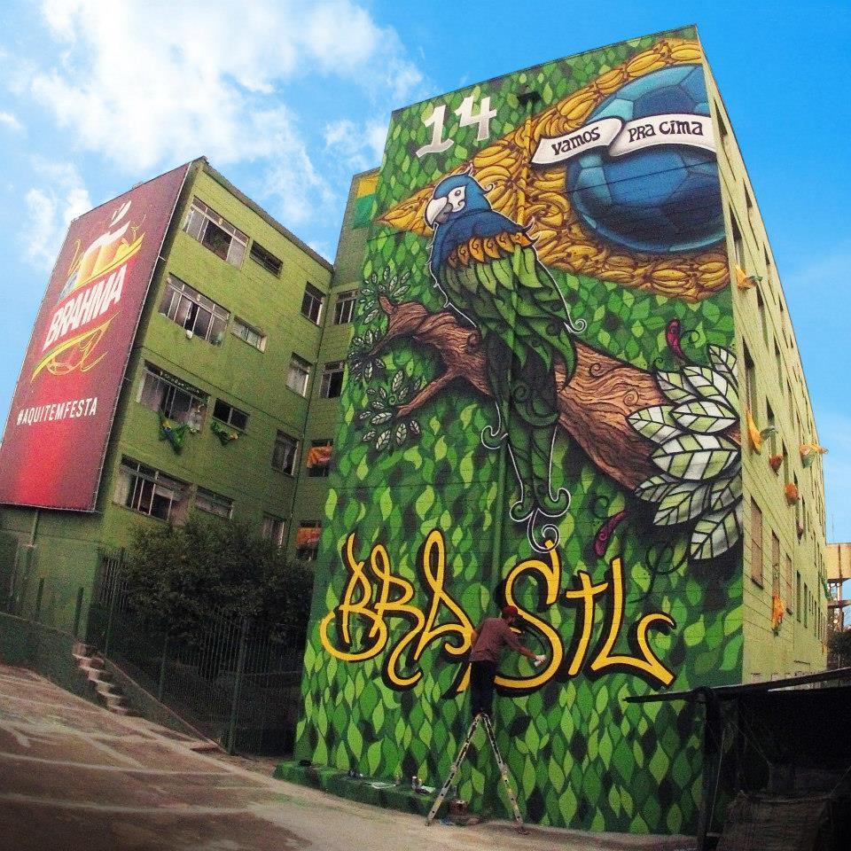 Grafite de Daniel Roots na Cohab Itaquera
