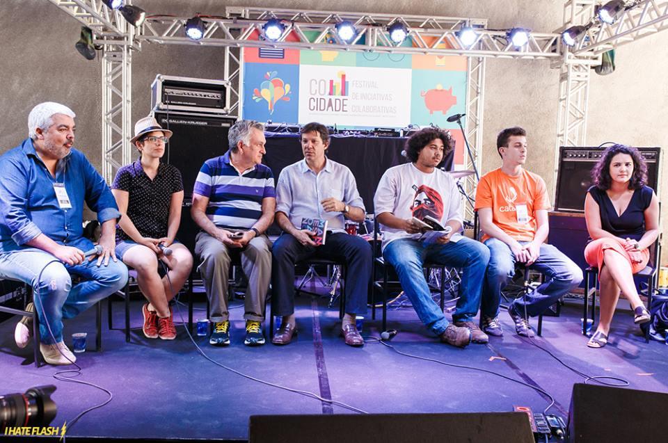 Debatedores do festival cocidade