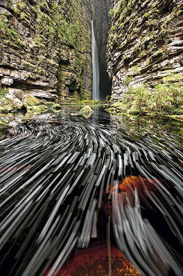 Cachoeira da Fumacinha, Ibicoara