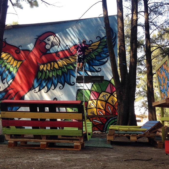 Grafite feito por Danilo Roots