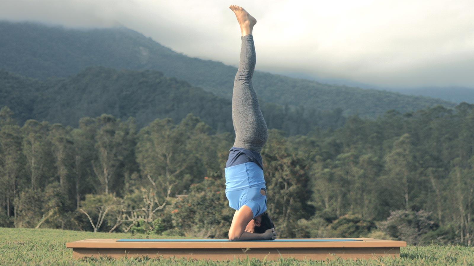 Sirshasana - posições de yoga