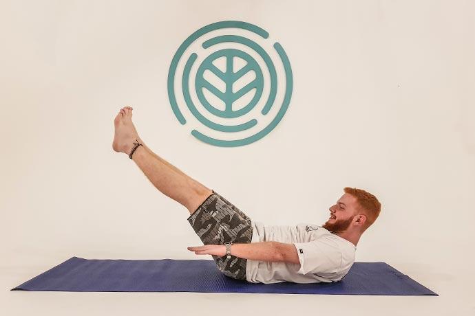 hundred - posição de pilates