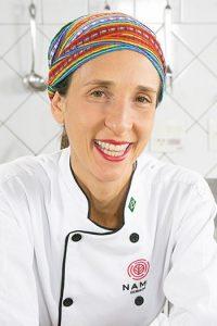 chef especialista em culinária vegetariana