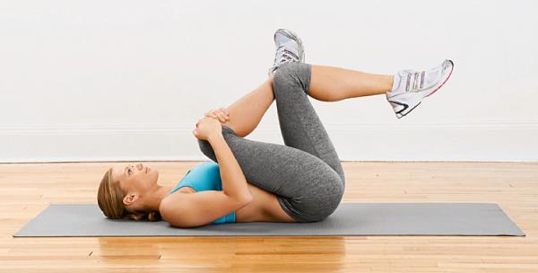 glute stretch pilates em casa