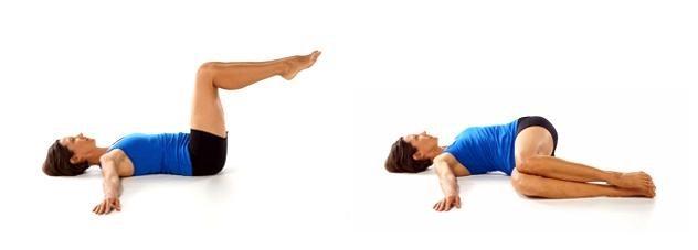 pilates em casa spine twist