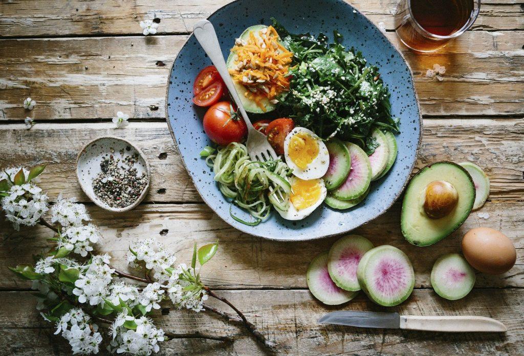 curso de alimentação saudável