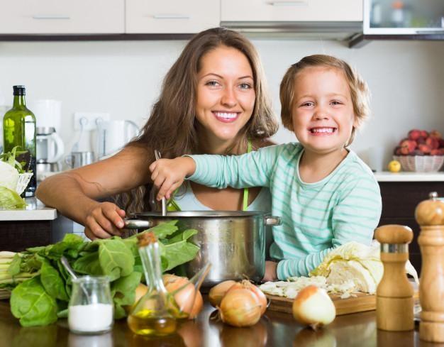 restrição alimentar em família