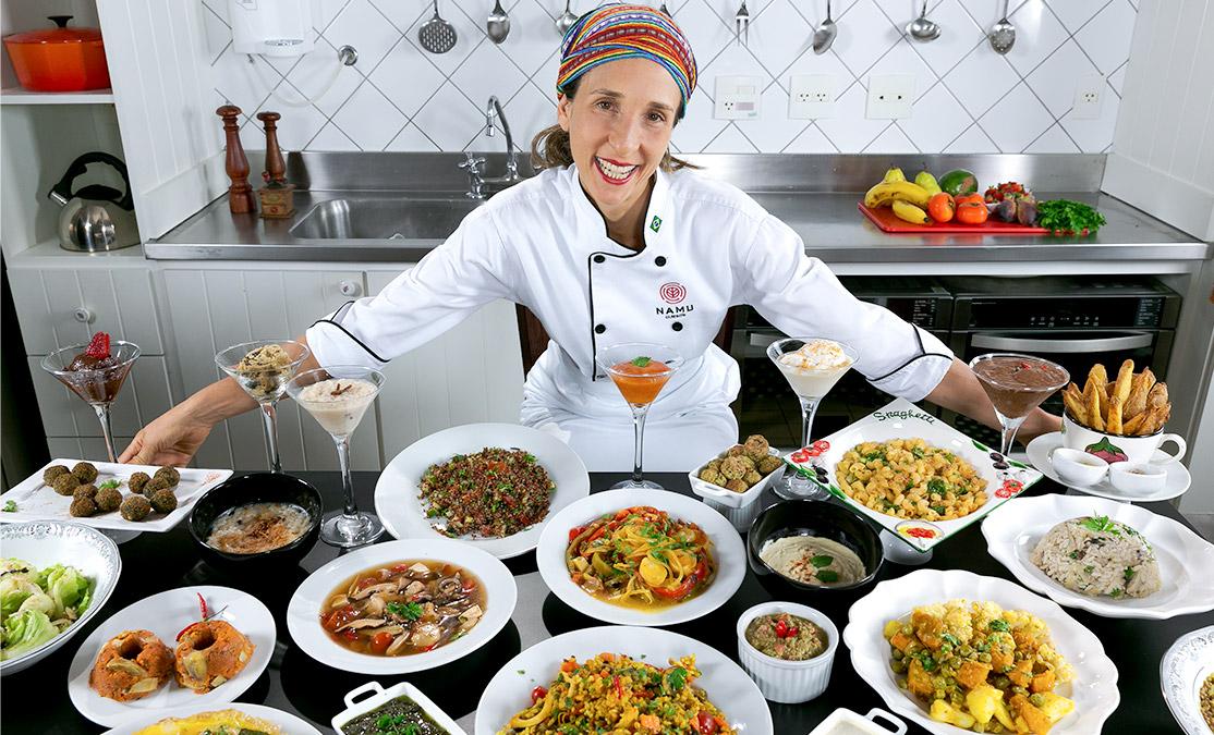 Volta ao mundo com a culinária vegetariana