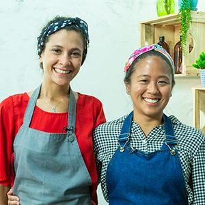 Daniella Kakazu e Luiza Monteiro