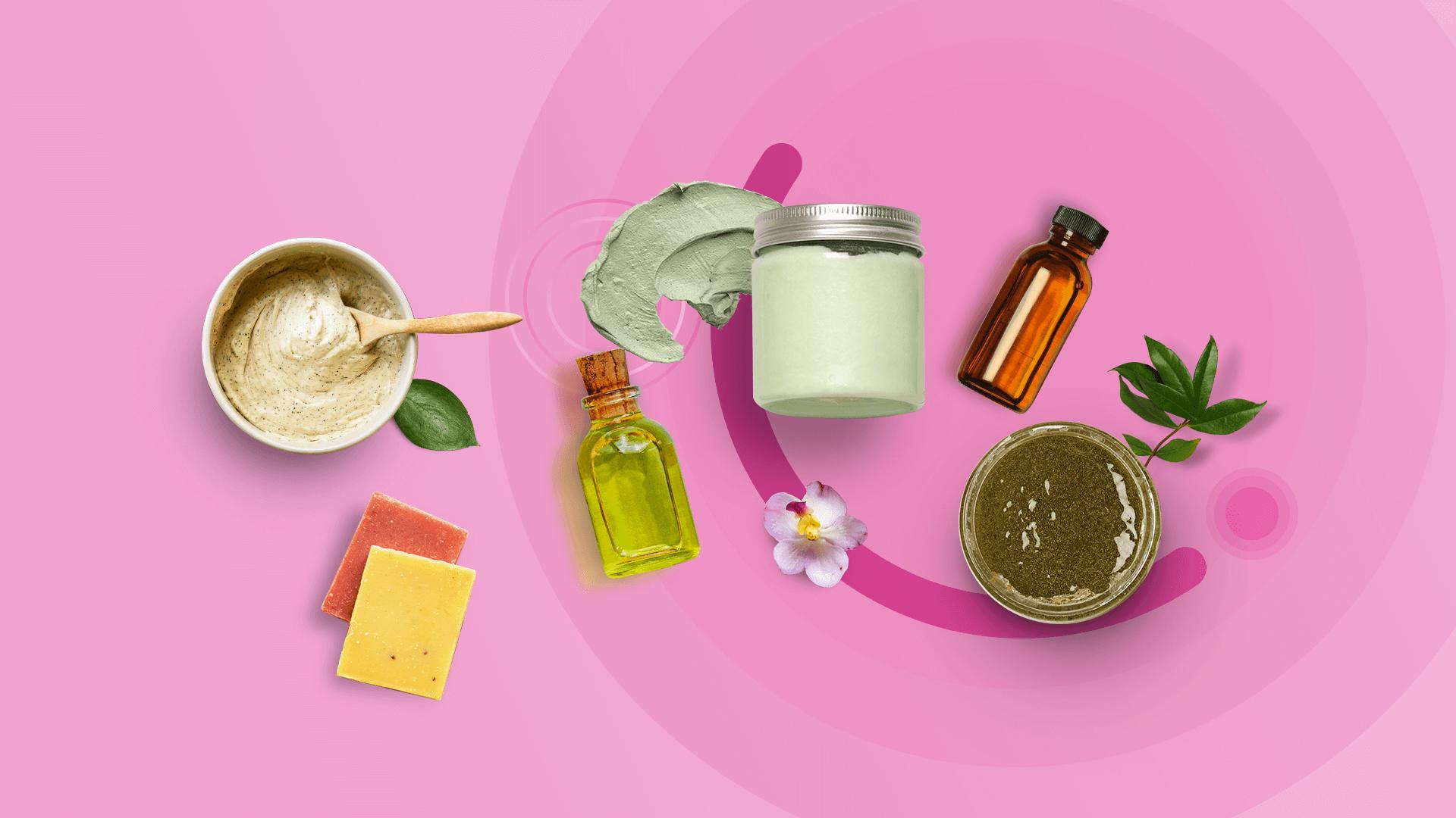 Cosméticos naturais e veganos – Produtos para a pele