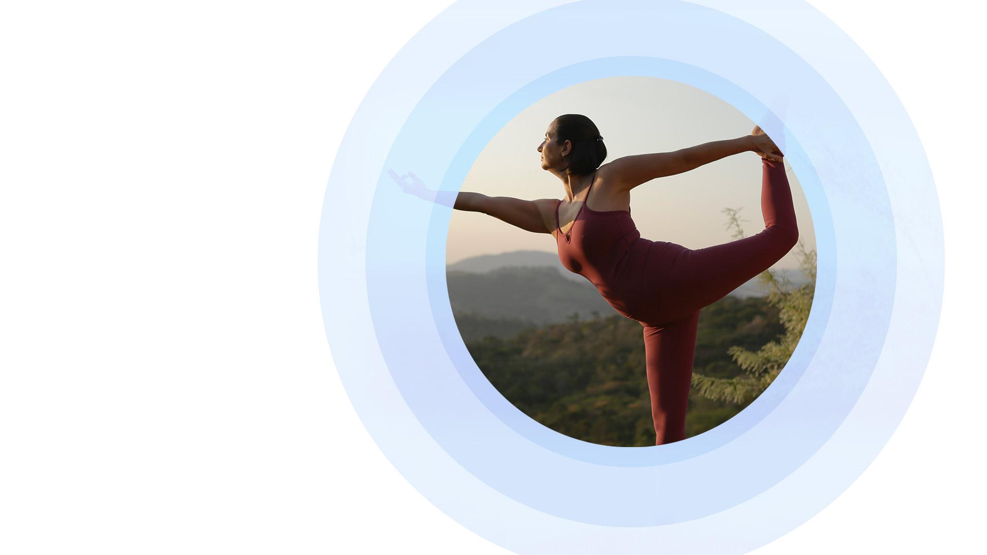 Hatha vinyasa yoga e a meditação em movimento